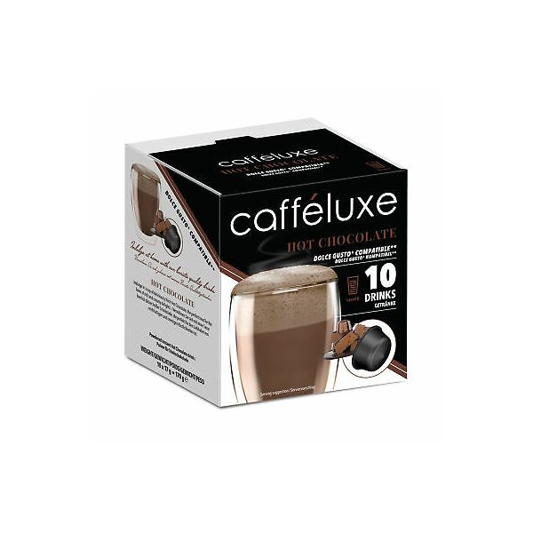 Caffeluxe Hot Chocolate Dolce Gusto