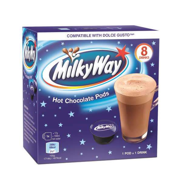 Milky Way Hot Chocolate Dolce Gusto Pods