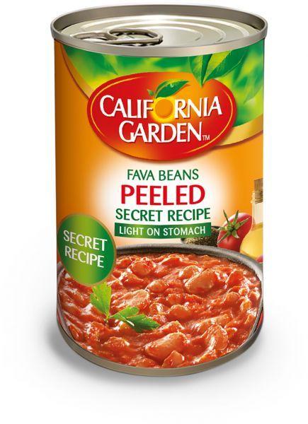 California Garden Fava Beans Peeled Secret Recipe 400 G