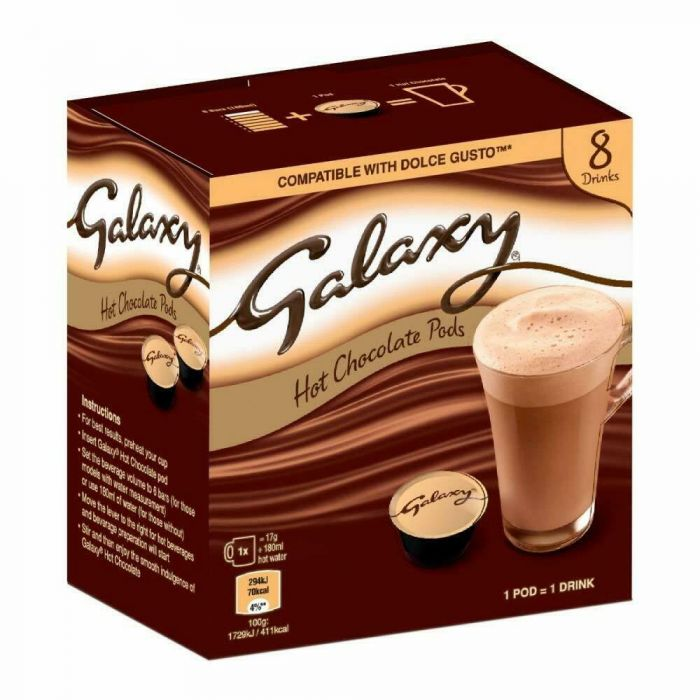 Galaxy Hot Chocolate Dolce Gusto Pods